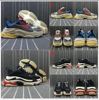 2020 Paris Triple-S Designer Shoes Low Platform Sneakers Triple S Mens Casual Designer Designer Scarpe Casual Sport Trainer Zapatos con scatola