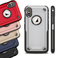 2 en 1 Hybrid Armor Case Robuste Etanche Defender Cases Couverture Pour iPhone X Xr Xs Max 8 7 6 6 Plus Samsung S8 S9 Plus Note 9 8 S7 Bord