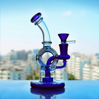 Cheap Sale Recyling Glass Bong Dab Rig Water Pipes With Bowl...