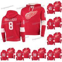 Detroit Red Wings Hoodies Justin Abdelkader Alex Biega Filip Hronek Mike Green Jimmy Howard nthony Mantha Darren Helm Tyler Bertuzzi Jerseys