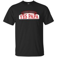 Black, Navy Shirt Johnny Johnny Yes Papa T- Shirt Mens Cotton