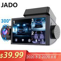 JADO Auto Dash Camera HD1080P Car Dvr Dash Camera 3 Cameras Night Vision Dvr Cam 24H Parking Monitor Vehicle Video Recorder