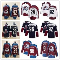 Mens Youth Lady 92 Gabriel Landeskog 29 Nathan MacKinnon 96 Mikko Rantanen 19 Joe Sakic Home Away Womens Kids Colorado Maglie Avalanche