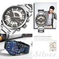 2020 longbo top luxus marke männer watch Quarz männliche uhr design sportuhren wasserdichte edelstahl armbanduhr erkek safatler
