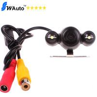 2 LED ночного видения камеры заднего вида автомобиля, 2.4G беспроводной камеры заднего вида, широкоугольный HD + водонепроницаемый + ночного видения