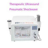 L'échographie de physiothérapie machine vague de pression d'air thérapie de choc Appareil Shockwave Équipement ultrasons pour soulager la douleur humanisée Conception