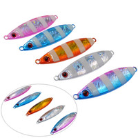 Slow Shaking Jigbait Lure Fishing 20 30 40 50 60g Jigs Artif...