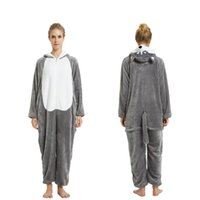 2016 Yetişkin Karikatür Güzel Zebra Kanguru Pijama Cosplay Onesie Kapşonlu Sleepsuit Kigurumi Jumpsuit Pijama Homewear Lounge Giyim Pijama
