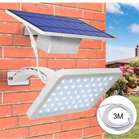Солнечный свет сада 48 СИД уличный свет стены Открытый IP65 Интегрировать Разделить Крыльцо Лампа для передней двери Двор Крыльцо Патио Pathway Гараж