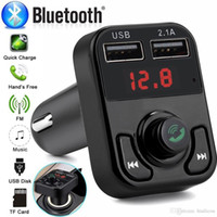 B3 Hands Free Wireless Bluetooth Car FM Transmitter AUX Modu...
