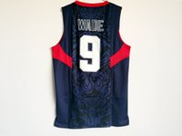 862c0f70f732 High Quality 15 Anthony Carmelo 9 Wade Dwyane 2008 Dream Team USA bei jing  Games Basketball Jerseys Men Embroidery