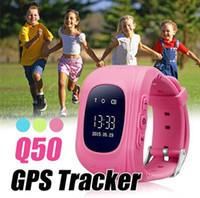 Q50 Kids Smart Watch GPS + LBS Double Location Safe Kids Watch Activity Tracker SOS Card for Android و IOS