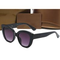 Retro Katzenaugen-Sonnenbrille Best Selling Trendy Straße Aufnahme Einzelne Frauen Sonnenbrillen Designer Damen Brillen