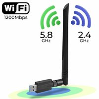 USB 3. 0 1200Mbps Wifi Adapter Dual Band 5GHz 2. 4Ghz 802. 11AC...