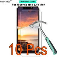"10 Pcs Lot For Hisense H18 6. 19"" 9H Hardness 2. 5D Ultra..."