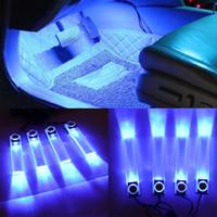 Romantik Aksesuarlar Styling Strip Dekorasyon Zemin Çok Kullanım LED Işık Oto Atmosfer Araba İç DIY Nightlight Kolay Kurulum