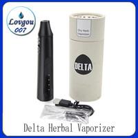 3 Düzeyleri Ayarlanabilir Sıcaklık Taşınabilir Dab Pen ile Delta Bitkisel Vaporizer 2200mAh Kuru Ot Vape Kalem Başlangıç Seti