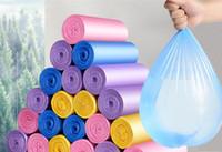 Caliente Jardín 100 piezas / paquete de Inicio desechables bolsa de recogida de basuras bolsas de basura de cocina punto de interrupción de una sola vez de limpieza bolsa de basura Rubbin Bolsa Organizador