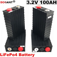 3.2V 100Ah LiFePO4 Batterierate für elektrische Fahrrad- / EV- / Sonnensystem-Lithium-Batterie 12V 24V 48V 60V 72V 100AH Freies Verschiffen
