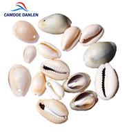 Coquille Naturelle Perles 50pcs 13-25mm Blanc Cauris Coquilles Fit Bricolage Femmes Bracelet Collier Fabrication De Bijoux Accessoires