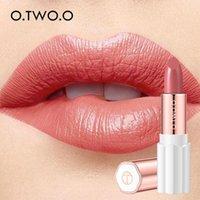12 colores cosmética del lápiz labial a prueba de agua hidratante de larga duración labios ligeros terciopelo semi barra de labios rica del color Makuep