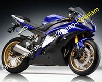 YZF R6 -ballen voor Yamaha YZF600 YZFR6 08 09 10 11 12 13 14 15 16 Blauw Zwart Wit Fairing Kit (spuitgieten)