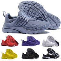 2018 Prestos Running Shoes Men Women Presto Ultra BR QS Yell...