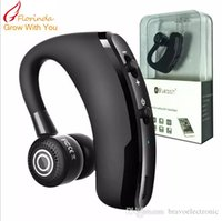 V9 Handsfree Business Bluetooth Headphone With Mic Voice Con...