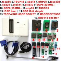 Freeshipping RT809H EMMC-Nand 플래시 프로그래머 +18 SOP8 플래시 어댑터 TSOP56 TSOP48 SOP28 SOP8 scoket EMMC-NAND NOR보다 RT809F