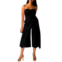 e119047997c4 New Arrival. Elegant Solid Women Ladies Clubwear Playsuit Bodycon Party  Jumpsuit Sleeveless ...