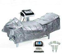 3 in 1 EMS Far Infrared Pressotherapy Elektrische Muskelstimulation Sauna Luftdruck Pressotherapy Körper schlank Lymphdrainage Maschine