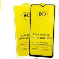 Pellicola proteggi schermo in vetro temperato 6D 9D a copertura totale PER MOTOROLA MOTO G7 PLUS G7 POWER G7 PLAY 200PCS / LOT