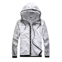 Бренд дизайн куртки мужчины лето с капюшоном солнцезащитный крем куртки ветровка мода хип-хоп одежда женщин мужская весов homme плюс размер s -3xl