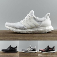adidas boost 2 2019 Ultra 3.0 Real 4.0 uncaged oreo Chaussures de course Triple Black White Primeknit zapatos Hommes Sneakers ultra chaussres 36-46