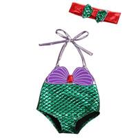 طفل أطفال بنات حورية البحر Tankini بيكيني فتاة ملابس السباحة قطعة واحدة ثوب السباحة 2017 ملابس السباحة الملابس