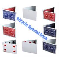 56pcs / Packung Fahrrad Gaff Deck Magie Variety Pack Spielkarten Magie Karten Spezial Props Close Up Bühne Zaubertrick für Magier
