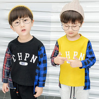 long middle short boys hoodies kids spring fahion clothes pl...