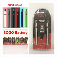 Bogo Lo VV 배터리 충전기 키트 400mAh CO2 오일 예열 vape 배터리 전자 담배 기화기 펜 적합 510 나사 분무기 AC1003 G2 카트리지
