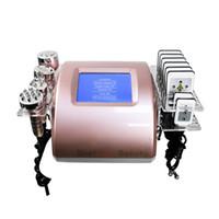 40K Ultrasonic Cavitation Body Shaping Slimming Machine 8 Pads Liposuction Lipo Laser RF Vacuum Cavi Lipolaser Skin Care Salon Spa Equipment