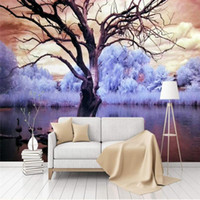 Handmade Large Murals Modern Canvas Oil Painting Knife Golde...
