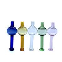 Vendita calda sfera di vetro Berretto Carb Bolla per quarzo Banger termico 10mm 14mm 18mm quarzo termico Banger Nail vetro tubi d'acqua Rigs olio