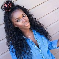 Honrin Hair Full Lace Wig Deep Curly Malaysian Virgin Human ...
