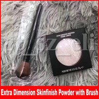 M Gesicht Make-up Extra Dimension Skinfinish Double Gleam Make-up Textmarker Erröten Lidschattenpuder Mit Pinsel