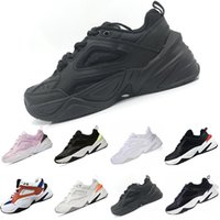 Nike Air Monarch the M2K Tekno 2018 M2K Tekno Do The Old Leder Flannelette Atmungsaktive Freizeitschuhe Monarch 4 M2k Tekno Mix EVA Dämpfung