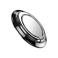 Новое поступление ультратонкий 360 ° вращающийся металлический палец кольцо держатель мобильного телефона кронштейн магнитная функция палец кольцо