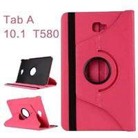 Pour Samsung Galaxy Tab A T580 Tablet Cases 10,1 pouces cas bon marché Defender de cas PU pour Samsung Tab A T580 Couverture