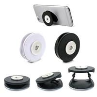 Nouveau téléphone support pliant doigt 018 Fit 18mm Snap Button Mobile Secure Grip Support Support Support De Bureau Réglable