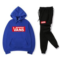 Color Match Emboidery Letters Tracksuit Women Outfit Long Sl...