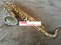 اليابان ياناجيساوا T-9937 آلات موسيقية تينور ساكسفون ب ب لهجة الفضة أنبوب الذهب مفتاح ساكس مع حالة لسان الحال قفازات الشحن المجاني