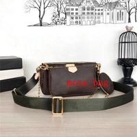 Tasarımcı Crossbody Çanta Gem Küçük Messenger Çanta Desinger Çantalar Kadın moda Üç parçalı Suite, şık omuz çantası